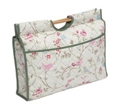 HobbyGift | Knitting & Craft Bag | Flowers Birds and Butterflies [Clearance]