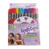 Craft Cord Solid Colours 50pk