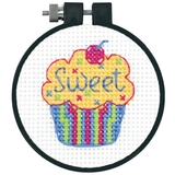 Cupcake Learn-a-Craft Cross Stitch Kit