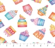 Cupcakes Sweet Things Fabric  3
