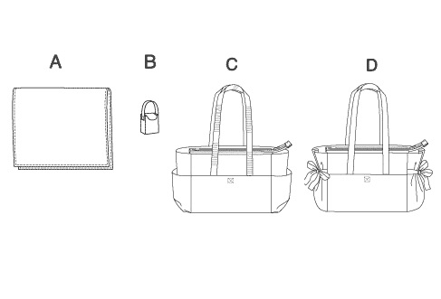 Your Fabric Place: Diaper Bag pattern review