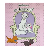 Disney The Aristocats Pink Fabric Panel