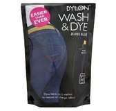 Wash and Dye Jeans Blue