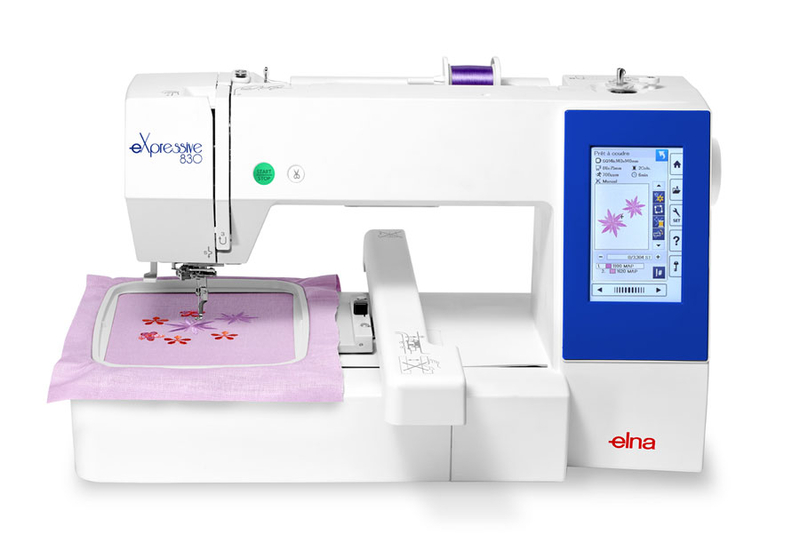 Elna Expressive 830EX Embroidery Machine