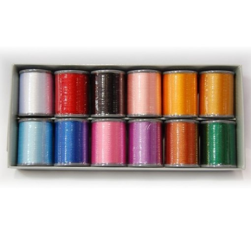 XC5517002//ETS12 Embroidery Thread 12 Colours Set ETS12