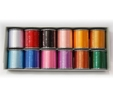 Embroidery Thread 12 Colours Set ETS12