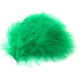 Emerald Green Marabou Feathers 20pk