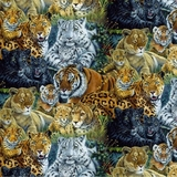 Exotic Wildlife Fabric
