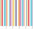 Fine Multi Stripes Sweet Things Fabric  3