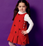 Girls Jumper Pattern B5945 Size 6, 7, 8