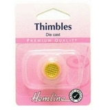 Gold Plated Thimble Medium