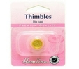 Gold Plated Thimble Small