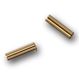 Gold Tube Spacers 50pk
