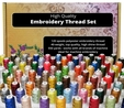 High Quality Embroidery Thread Set 120 Colours