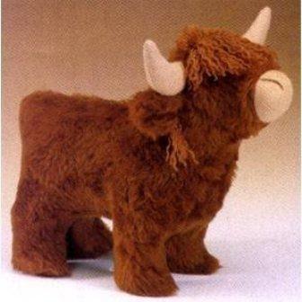 Highland Cow Cuddly Toy Kit Haberdashery Online