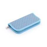 HobbyGift MR4701E_266 | Cornflower Mini Polka Dot Crochet Hook Case Empty [Clearance]