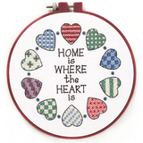 Home & Heart Learn-a-Craft Cross Stitch Kit