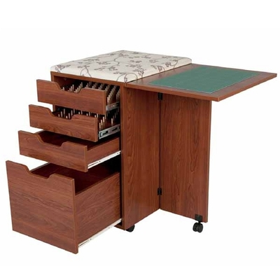 Horn Deluxe Rolla Station 907 Sewing Cabinet