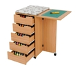Horn Deluxe Rolla Station 908 Sewing Cabinet 4