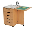 Horn Deluxe Rolla Station 908 Sewing Cabinet 5