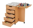 Horn Deluxe Rolla Station 908 Sewing Cabinet 7