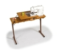 Horn Hideaway Folding Table 34 Sewing Cabinet