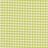 Houndstooth Lime Fabric Cut, Single 160 x 110cm