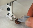 Husqvarna Viking Button Foot With Placement Tool (Cat 7)