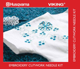 Husqvarna Viking Embroidery Cutwork Needle Kit (Cat 7)