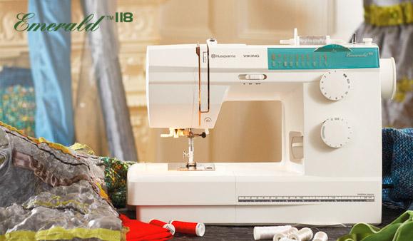 husqvarna emerald sewing machine