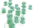 Husqvarna Viking Green Bobbins 10pk Cat 5,6,7