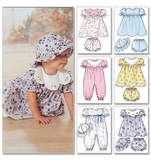Infants Dress, Panties, Jumpsuit and Hat Size OSZ