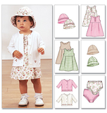 Infants Jacket, Dress, Panties & Hat Size OSZ
