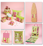 Ironing Board Cover, Organizers, Zip Case In 2 Sizes and Pin Cushions M6374 One Size