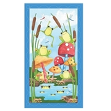 It's a Pond Party Fabric Panel