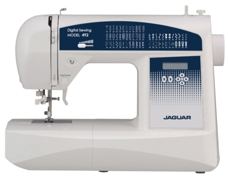 Jaguar 492 Computerised Sewing Machine. FREE Thread Pack Included. Sewing Machine