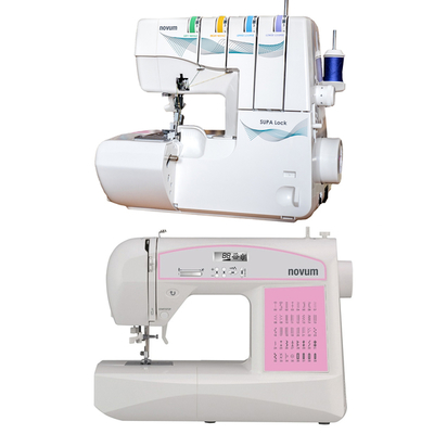 Jaguar Supa Lock 486 + Jaguar Craft 590 Combo Offer Overlocker