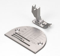 Janome 1600 / HD9 Straight Stitch Foot and Needle Plate