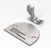 Janome 1600p Straight Stitch Foot  and Needle Plate