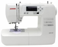 Janome 2030DC Computerised Sewing Machine Reconditioned. FREE Thread Pack Included.