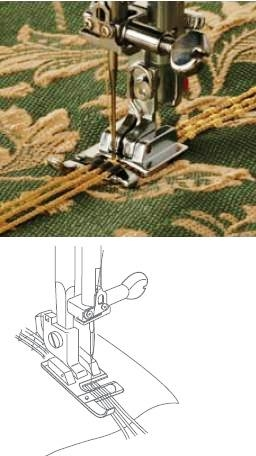 Janome 3 Way Cording Foot (Cat B)