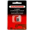Janome 200126009 | 3 Way Cording Sewing Foot | Category A Janome Category A 2