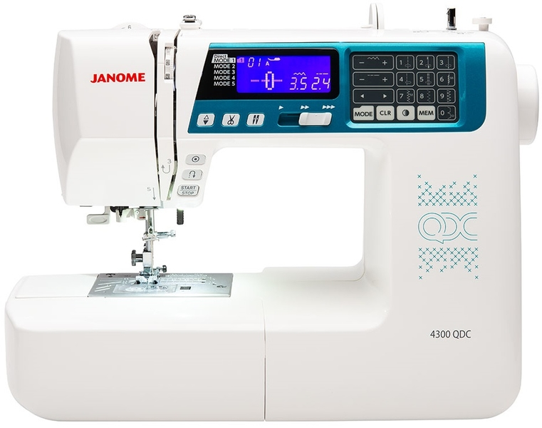 Janome 4300QDC Computerised Sewing Machine Sewing Machine