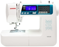 Janome 4300QDC Computerised Sewing Machine. Was £599, Save £100.