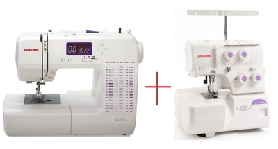 Janome 8050XL Plus Janome 8002DX Amazing Combo Offer