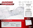 Janome AcuFil Quilting Kit ASQ18b | 864435000