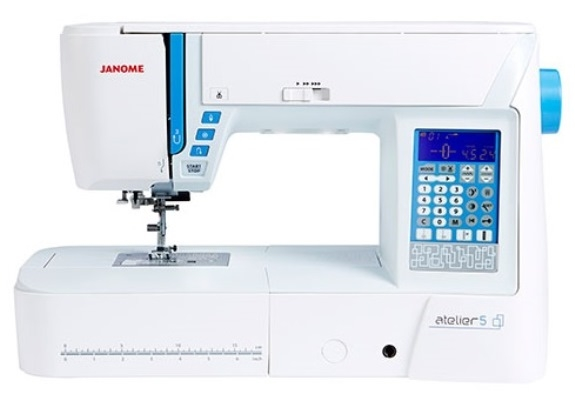 Janome Atelier 5 Computerised Sewing Machine Brand New Sewing Machine