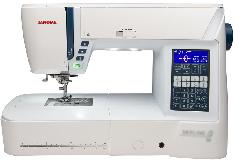 Janome Atelier 6 Computerised Sewing Machine. Normally £1099, Save £200. Includes FREE JQ7 Quilting Kit Worth £185. Sewing Machine