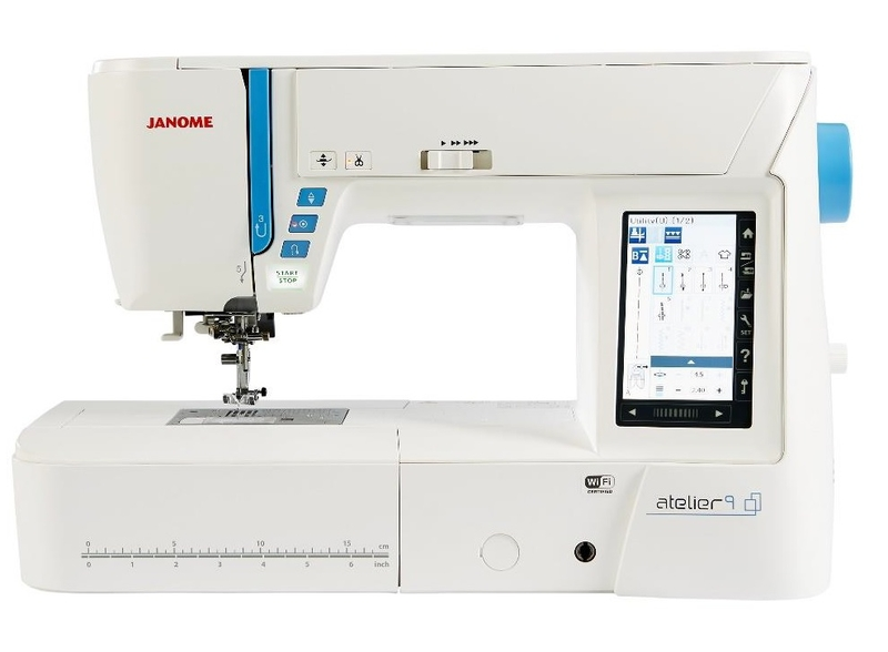 Janome Atelier 9 Sewing & Embroidery Machine Sewing Machine