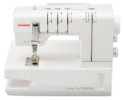 Janome CoverPro 2000 CPX Coverstitch Ex Display